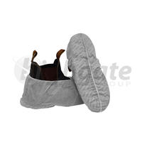 Shoe Covers (non slip PP) - White (500/carton)
