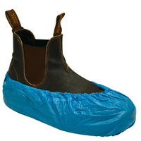 Shoe Covers (non slip PP) - Blue (500/carton)