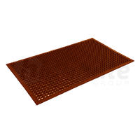 Anti Fatigue Mat - Grease Resistant - Terracotta 900mm x 1500mm