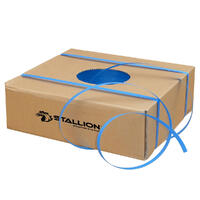 STALLION Poly Strapping, 12mm x 1000m - Blue (90kg breakload)