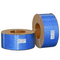 Premium Machine Poly Strapping, 12mm x 3000m - Blue