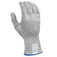 Safex Plus Cut Resistant Glove Grey, SMALL (Size 7)