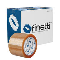 Extra Wide Packaging Tape, 75x75m, Clr