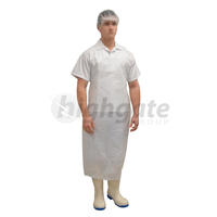 Disposable Aprons, 960mm x 1500mm + 40mm header - White 500/ctn (price/1000)