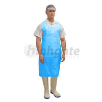 Disposable Aprons, 960mm x 1160mm+ 40mm header - Blue 500/ctn (Price/1000)