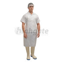 Disposable Aprons, 960mm x 1160mm+ 40mm header - White 500/ctn (Price/1000)