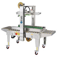 Carton Sealing Machine, Stainless Steel - Side Drive