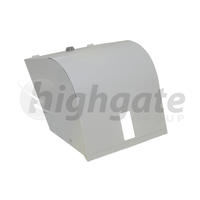 Metal Roll Towel Dispenser - White