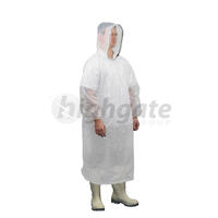 Poncho Waterproof, White, One Size (200/ctn)