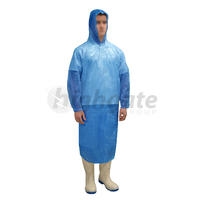 Poncho Waterproof, Blue, One Size (200/ctn)