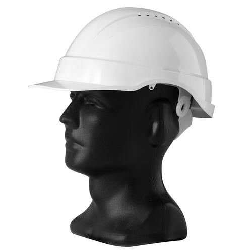 Hard Hat, Vented - White