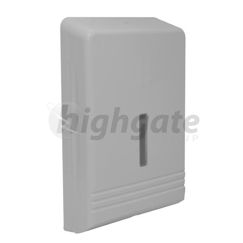 Interleaved Towel Dispenser (White Plastic)