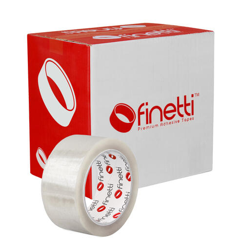 Finetti Packaging Tape, 48mm x 75m, Clear