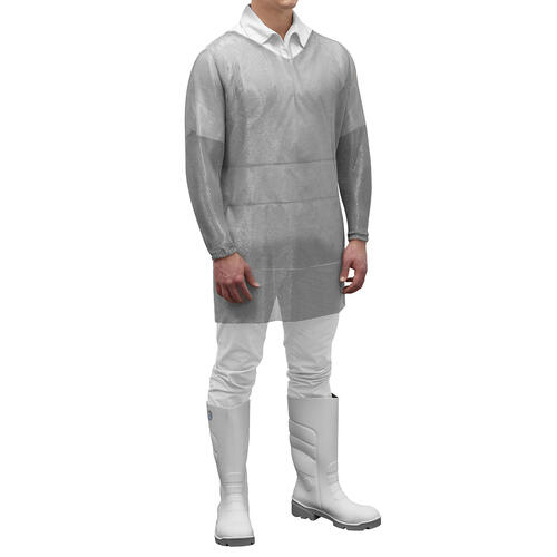 Manulatex Mesh Tunic, Stainless Steel, Long Sleeve