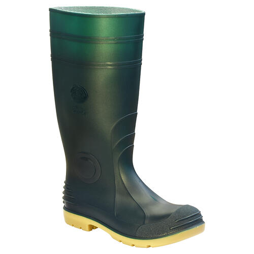 Jobmaster 2 Gumboots, Safety Toe - Green