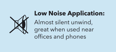 Wrapex Stretch Film Low Noise Application: Almost silent unwind, great when used near offices and phones