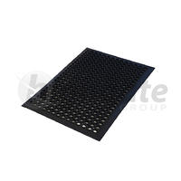 Anti Fatigue Mat Small - Black 900mm x 600mm
