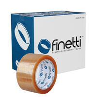 Finetti Premium Packaging Tape, 48mm x 75m, Clear