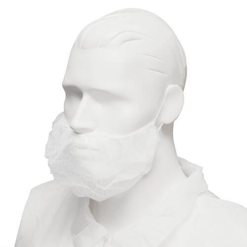 Beard Cover, Double Loop White (1000/ctn)